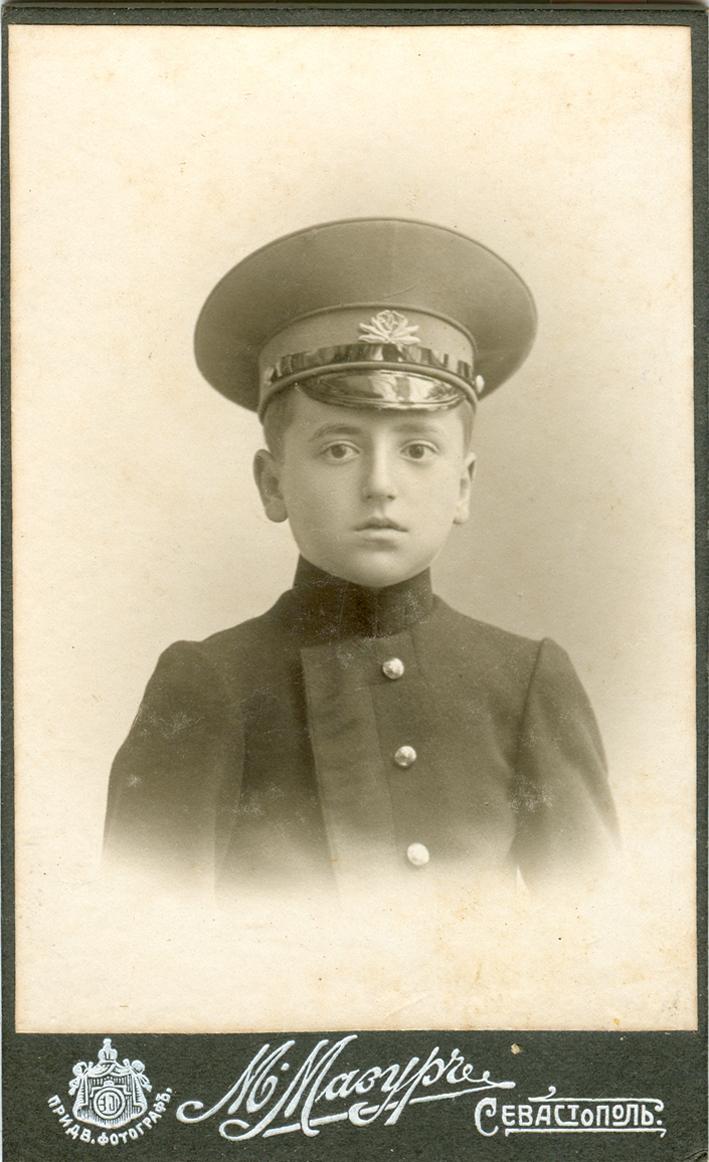 Karaimski uczeń. Sewastopol, przełom XIX i XX w.